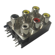 RCA connectors Manufacturer: Dongguan Bsun Electronics Co  Ltd