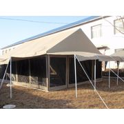 China Big size durable canvas dining room tent