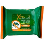 China 30% DEET Tick Insect Mosquito Repellent Wipes, Suitable for Children & Babies