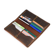 China Men's wallet, made of leather, retro style,cowboy style, multi-function