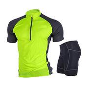 Fashionable Colorful Stylish Cycling Jersey Sets from  Fuzhou H&f Garment Co.,LTD