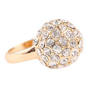 new arrival Italina Brand rose gold white CZ diamo from  HK Yida Accessories Co. Ltd