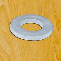 Plastic large flat washer from  Ganzhou Heying Universal Parts Co.,Ltd