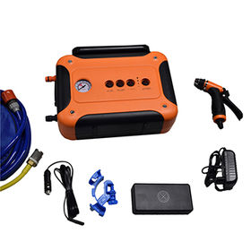 Portable 12V High Pressure Car Washer 60W Pump from  Shenzhen Yomband Electronics Co. Ltd