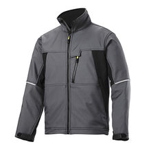 Water repellent polyester softshell jacket from  Fuzhou H&f Garment Co.,LTD