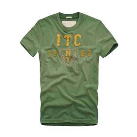 Men's cotton T-shirts from  Qingdao Classic Landy Garments Co. Ltd