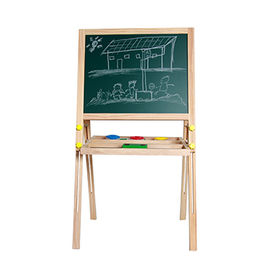 Wooden double-sided magnetic drawing board from  Wenzhou Times Co. Ltd