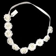 Pearl Artificial Flower Hair Band from  Ebolle Fashion Accessories Co. Ltd
