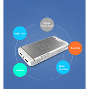 China MG 200A Wi-Fi Display LED WVGA/DLP/Pico Projector, Connect Wirelessly to iPhone, Android Phone/Tab