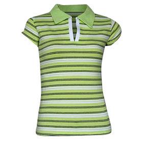 Women's short-sleeved polo shirts from  Qingdao Classic Landy Garments Co. Ltd