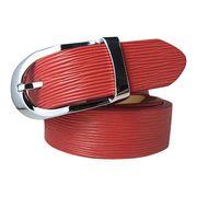 Stylish red PU belt from  Chanch Accessories International Co. Ltd