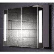 China IP44 Double-door Bathroom Mirror Cabinet