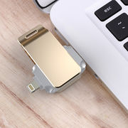 China [APPLE MFi CERTIFIED] Lightning to USB Flash Drive for iPhone 7/7 Plus/ 6s/ 6s Plus, iPad