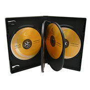 22mm DVD Case for 6 Disc with Insert (Black)
