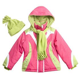 Padded jackets from  Qingdao Classic Landy Garments Co. Ltd