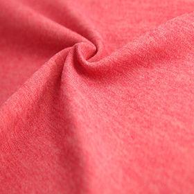 81% Polyester heather 19%spandex interlock from  Lee Yaw Textile Co Ltd