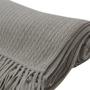 Cashmere cable scarves from  Inner Mongolia Shandan Cashmere Products Co.Ltd