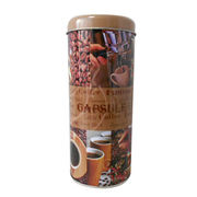 Coffee tin box,spice tin box,candy tin box,CMKY,available in various sizes,styles,OEM accepted