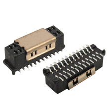 0.8mm Board to Board Connector socket smt from  Morethanall Co. Ltd