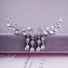 Zircon alloy earrings from  HK Yida Accessories Co. Ltd