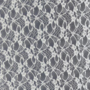 Flower lace fabric from  Fujian Changle Xinmei Knitting lace Co.Ltd