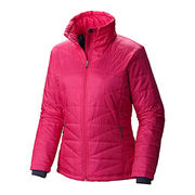 Women's hooded plush jacket from  Fuzhou H&f Garment Co.,LTD