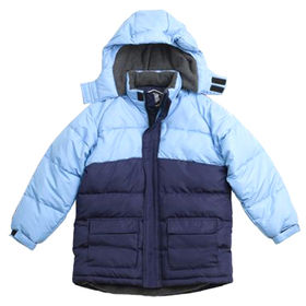 Boy's padding jackets from  Qingdao Classic Landy Garments Co. Ltd