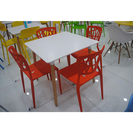 Colorful Outdoor MDF Dining Table from  Langfang Peiyao Trading Co.,Ltd