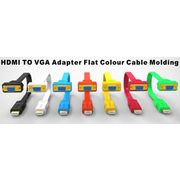 China HDMI male to VGA male cable adapter