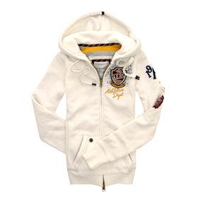 Women's hoodies from  Qingdao Classic Landy Garments Co. Ltd