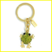 China Silver keychains, OEM/ODM, multiple glitter colors for cheerleaders associations