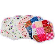 Organic cotton menstrual pads