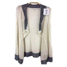 Ladies' knitted cardigan from  Hangzhou Willing Textile Co. Ltd