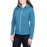 Lady fit soft shell jackets from  Fuzhou H&f Garment Co.,LTD