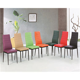 PU Seat and Back Dining Chairs from  Langfang Peiyao Trading Co.,Ltd