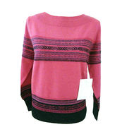 Cashmere Crew Neck Pullover from  Inner Mongolia Shandan Cashmere Products Co.Ltd