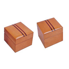 Multiple wooden ring box