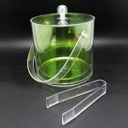 Unbreakable ice bucket and clamp from  Dalco H.J. Co Ltd