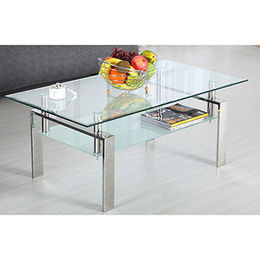 Modern hot sale glass coffee table from  Langfang Peiyao Trading Co.,Ltd