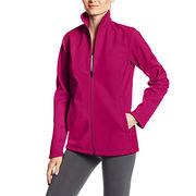 Soft shell ladies jacket from  Fuzhou H&f Garment Co.,LTD