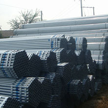 Construction tube galvanized steel pipe from  Sino Sources Tech Co. Ltd