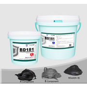 China Ceramic tile bonding epoxy adhesive, high temperature wear abrasion resistant, brush application