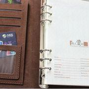 China Leather Notebook in A4 Size, Elegant and Vintage, Suitable for Office