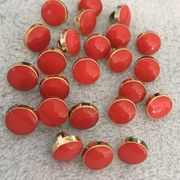 China Supply Various Color and Size Gold Plastic ABS Button