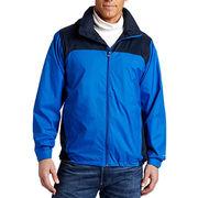 Men's rain jacket from  Fuzhou H&f Garment Co.,LTD