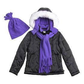 Girls' padding jackets from  Qingdao Classic Landy Garments Co. Ltd