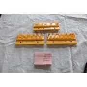 China LG comb plate elevator parts automatic escalator comb plate