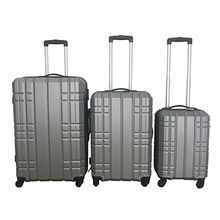 3-piece ABS luggage set from  Shanghai Alliance Glory International Co. Ltd