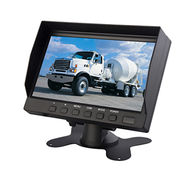 7inch CCTV LCD Digital monitor from  Shenzhen Luview Co. Ltd