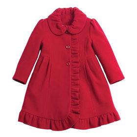 Girls' wool coats from  Qingdao Classic Landy Garments Co. Ltd